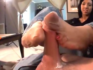 brunette, british, fetish, foot fetish, footjob, masturbation