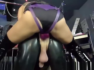 fetish brunette hardcore