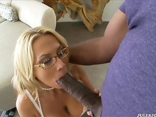 interracial blonde big tits