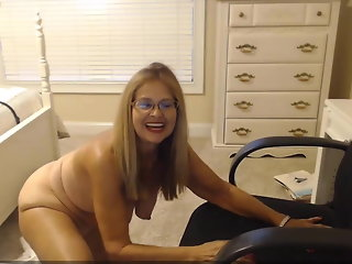 blonde webcam mature