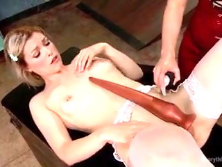 dildo extreme insertion